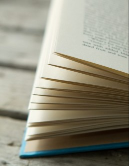 Book pages photo
