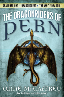 Anne McCaffrey - The Dragonriders of Pern book cover