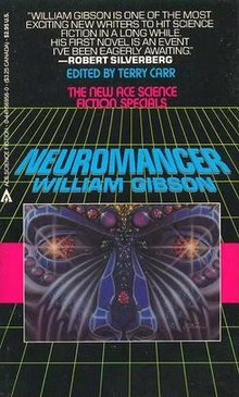 William Gibson - Neuromancer book cover