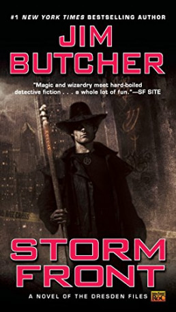 Jim Butcher - Storm Front book cover